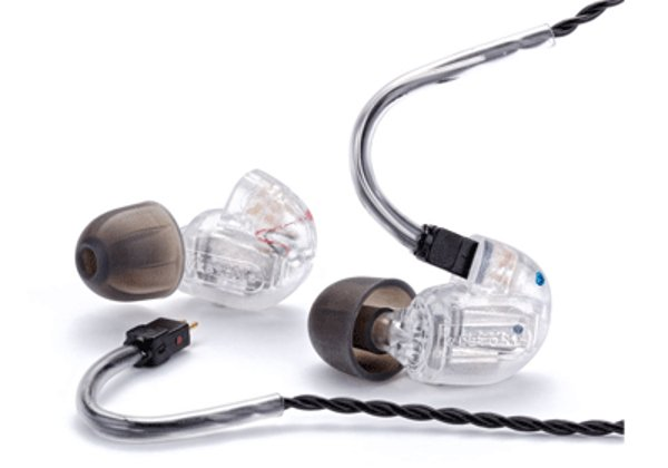 In-Ear Monitor, Dual-Driver, Clear with Removable Cable