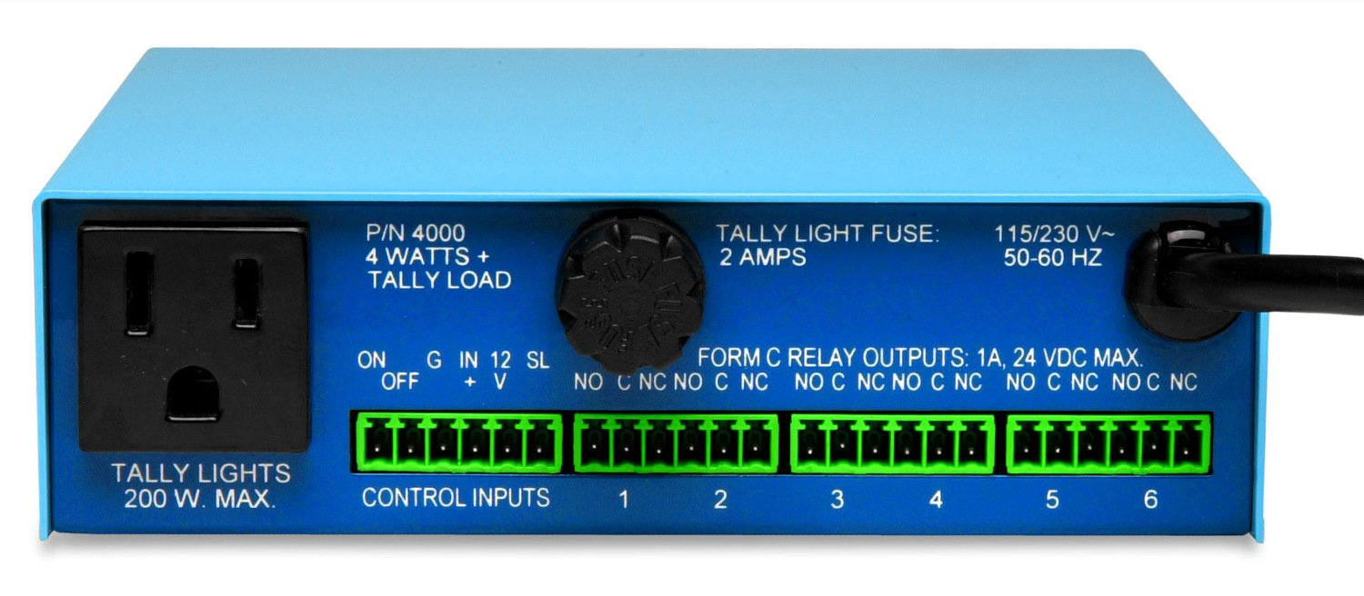 LED Tally Light and Utility Control Interface