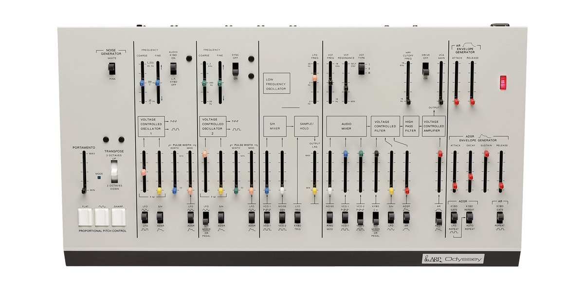 Rev1 Duophonic Synthesizer - White