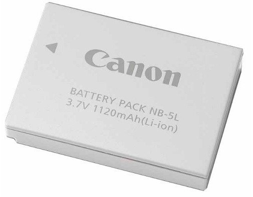 Rechargeable Li-Ion Battery Pack for PowerShot Cameras