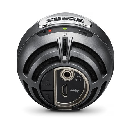 Digital Condenser Microphone, Gray