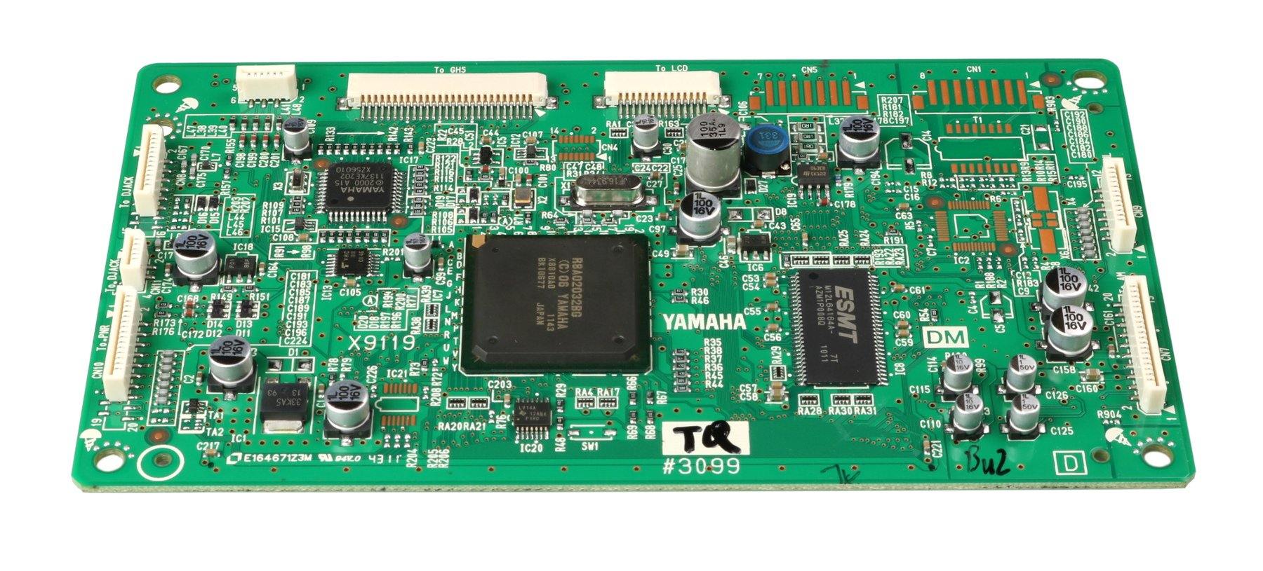 Yamaha WU178501 Main PCB Assembly for DGX-640 WU178501