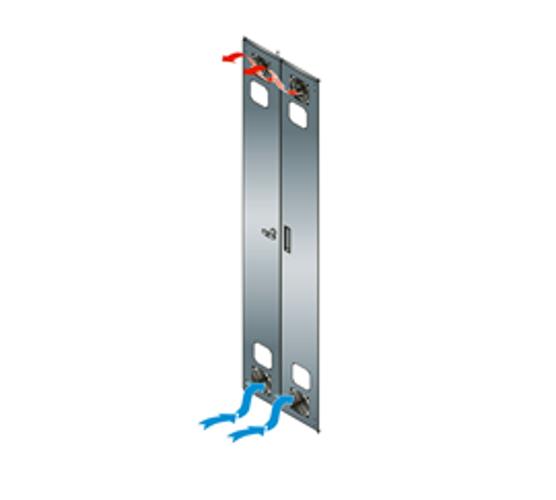 Split Rear Doors Fan Kit with 2 Fans and 2 Guards