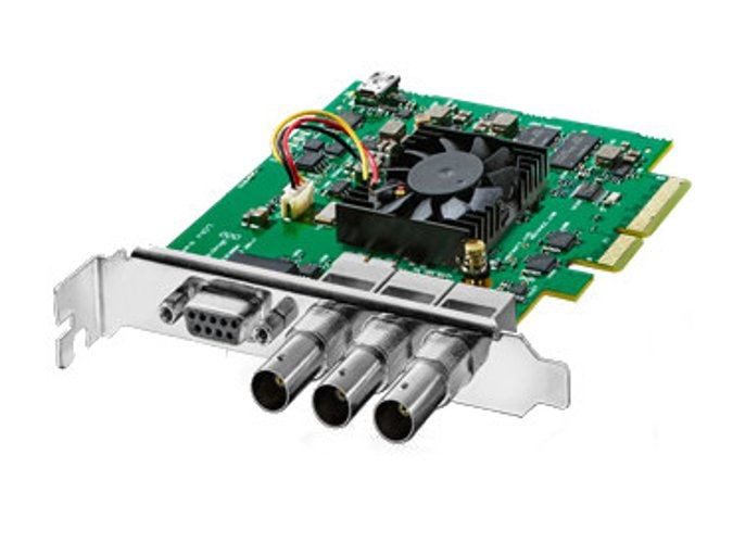 DeckLink SDI 4K Video Capture and Playback Card with 6G-SDI