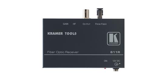 Receiver Fiber Optic  use w/611T