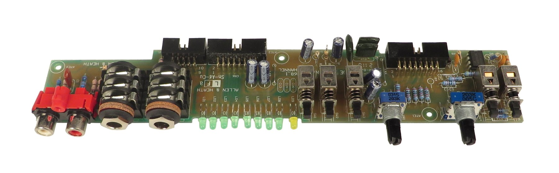 Effects PCB for ZED-10FX