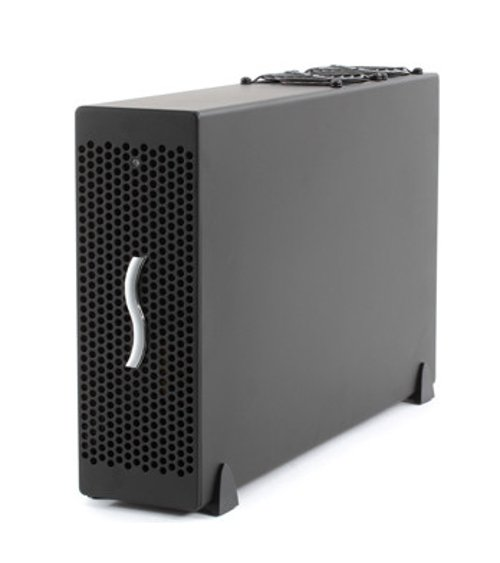 Thunderbolt 2 3-Slot Expansion Chassis for PCIe Cards