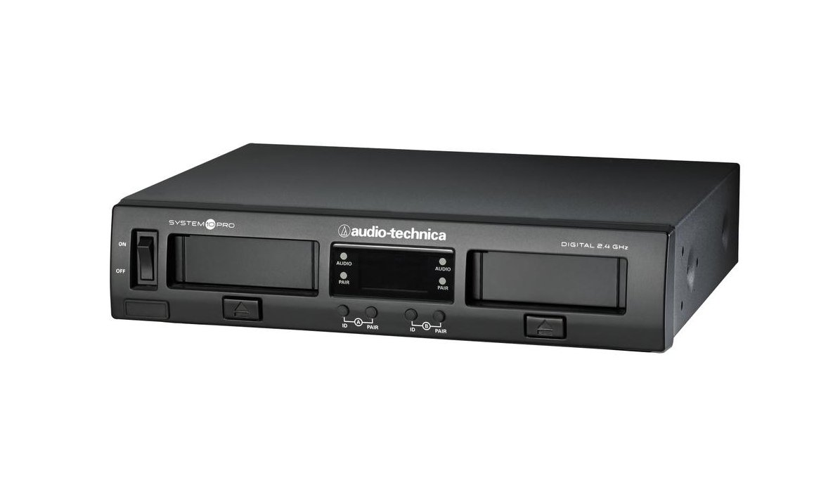 audio technica atw 1322 system 10 pro rackmount dual channel digital wireless handheld system. Black Bedroom Furniture Sets. Home Design Ideas