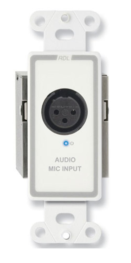 Active Single Pair Sender with XLR Microphone Input with Phantom Power