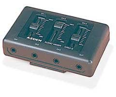 Minature 3-channel Microphone Mixer
