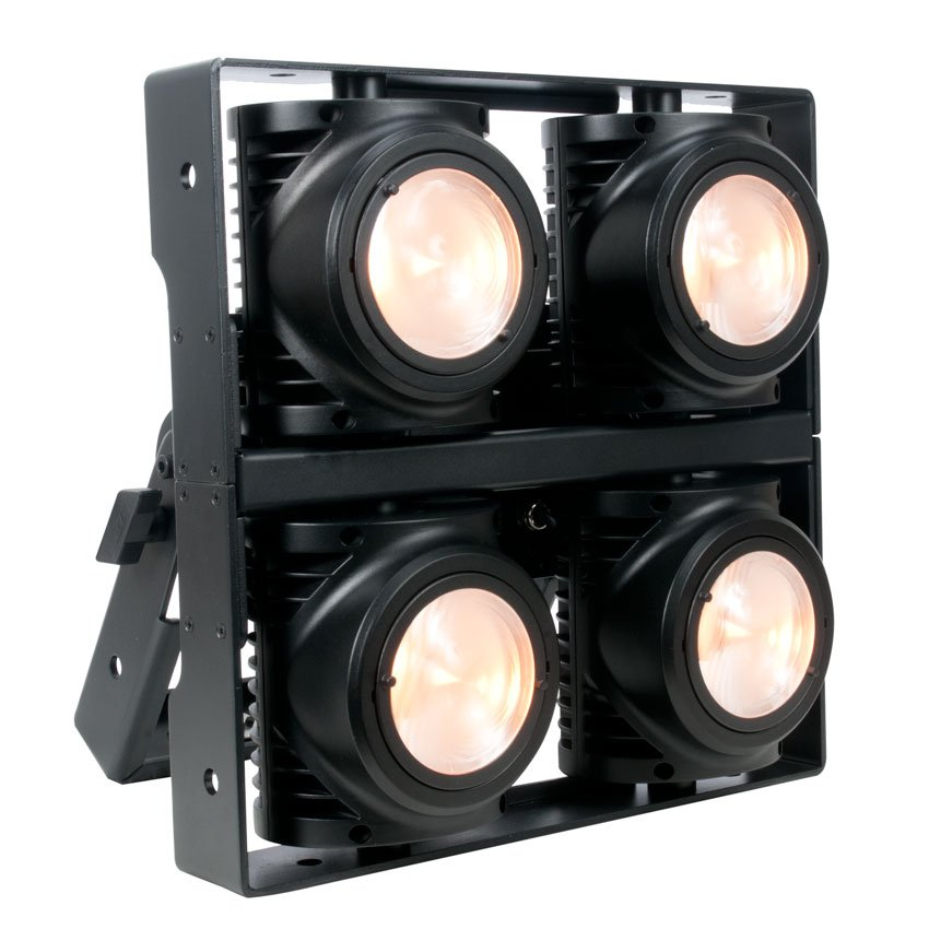 Blinder/Strobe Light with 4x175W Dynamic White LEDs, Rated IP65