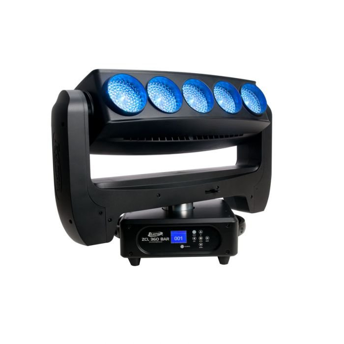 5- 60w RGBW 360° Moving Head LED with Zoom
