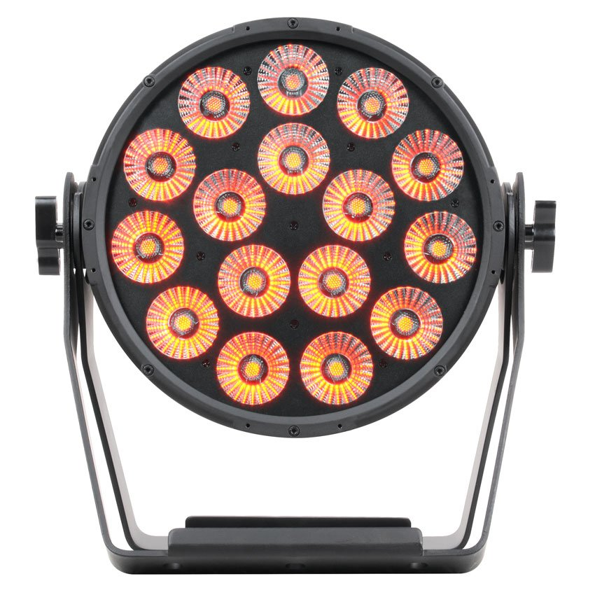 Par-Type Fixture with 16x 15W - CW, WW, and Amber LEDs