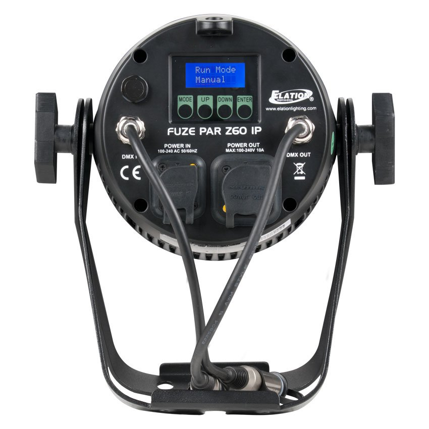Elation Pro Lighting FUZE-PAR-Z60  60W RGBW Par with Zoom FUZE-PAR-Z60