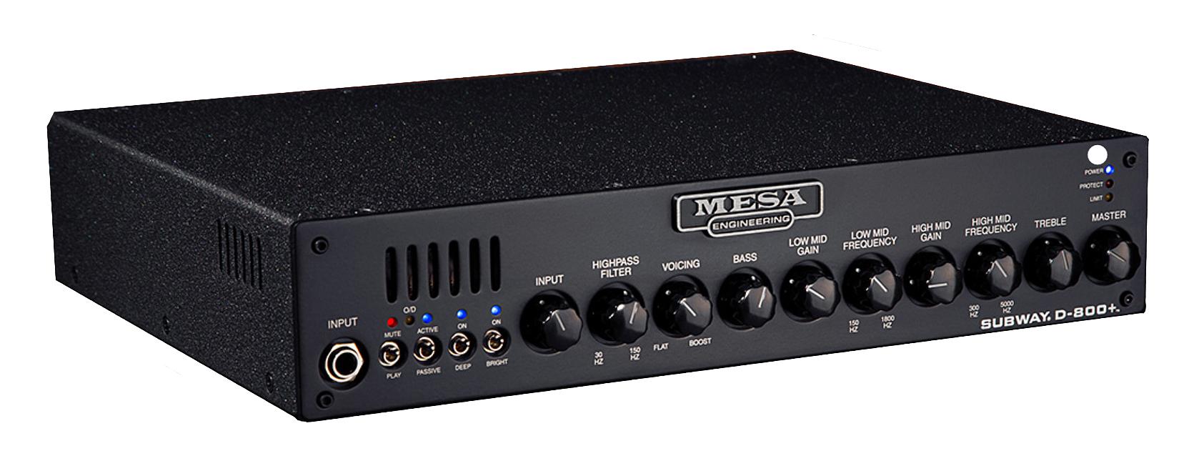 800W Bass Amp Head