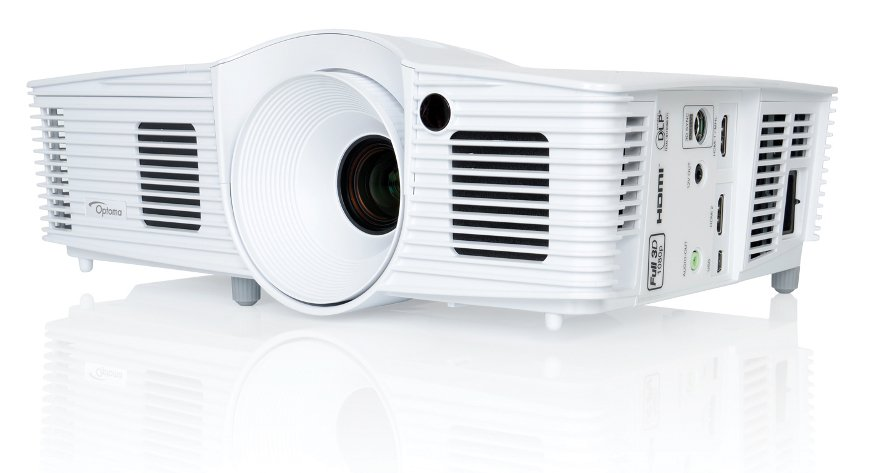 3200 Lumens 1080p HD Full 3D Home Theater Projector