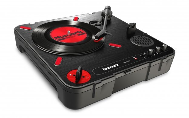 Portable Turntable with DJ Scratch Switch
