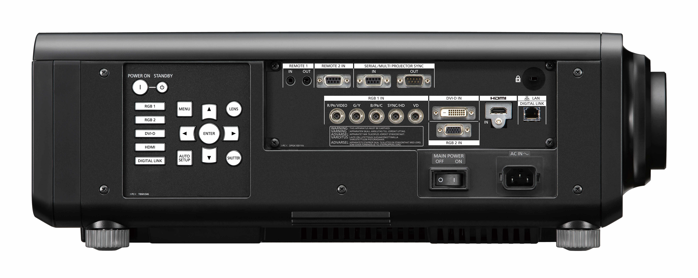 10,400lm XGA Laser Projector in Black