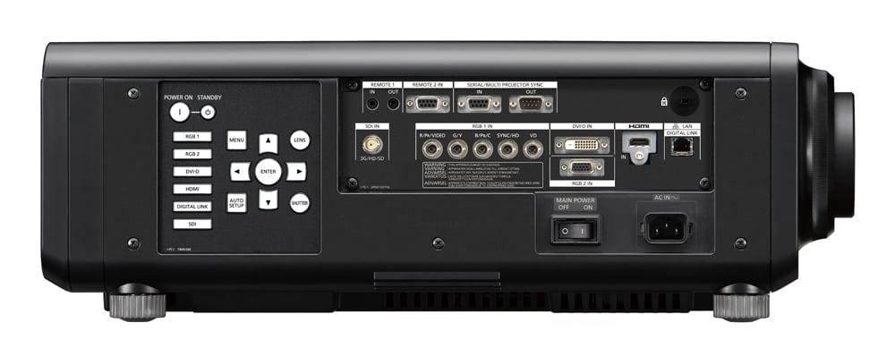 10,000 Lumen Single Chip DLP Laser Projector In Black - Lens Sold Separately