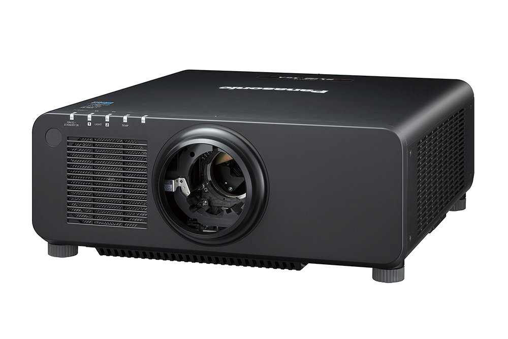 10,400lm XGA Laser Projector in Black with No Lens