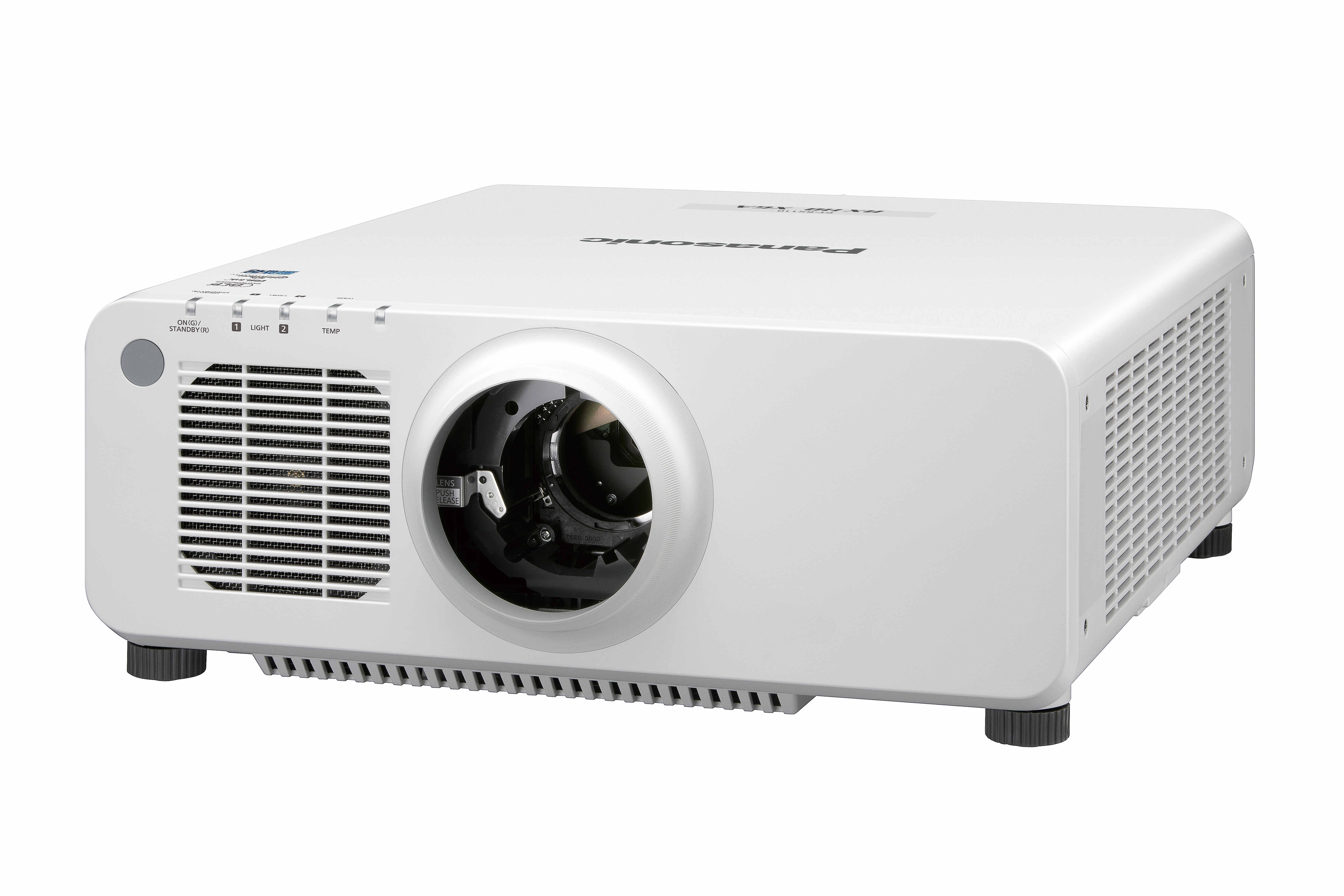 Panasonic PTRX110LWU 10,400lm XGA Laser Projector in White with No Lens PTRX110LWU