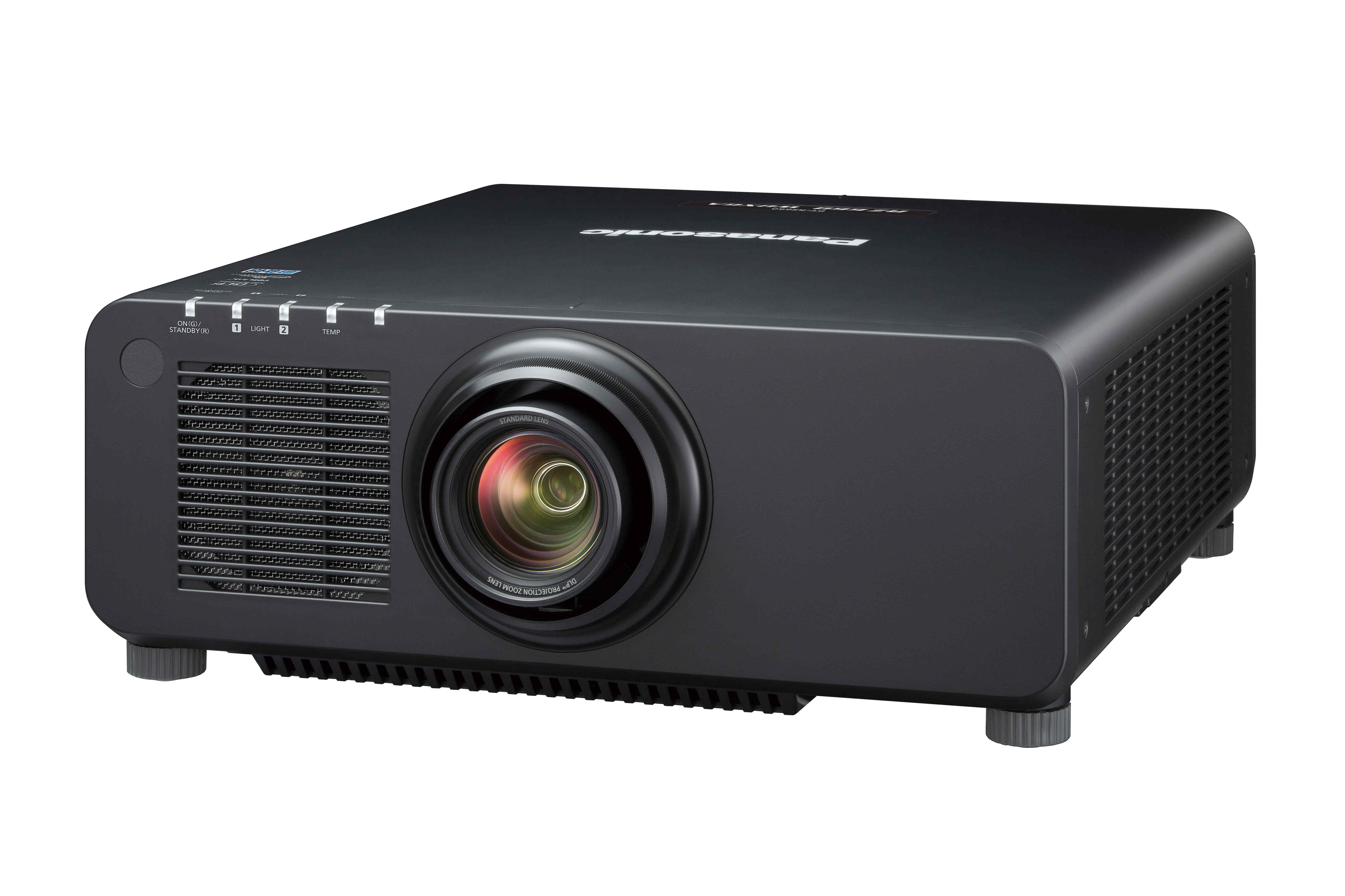6200lm WUXGA Laser Projector in Black
