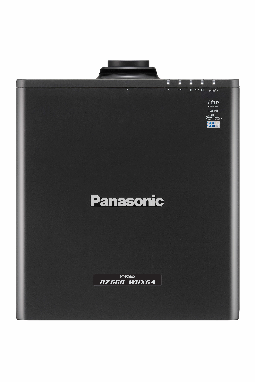 6200lm WUXGA Laser Projector in Black with No lens