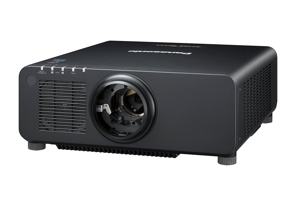7200lm WUXGA Laser Projector in Black with No lens