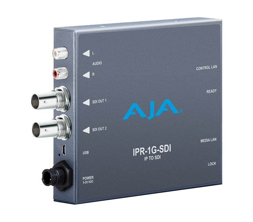 JPEG 2000 IP Video & Audio 3G-SDI Mini Converter