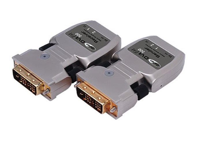 DVI Over Fiber Optic Extender