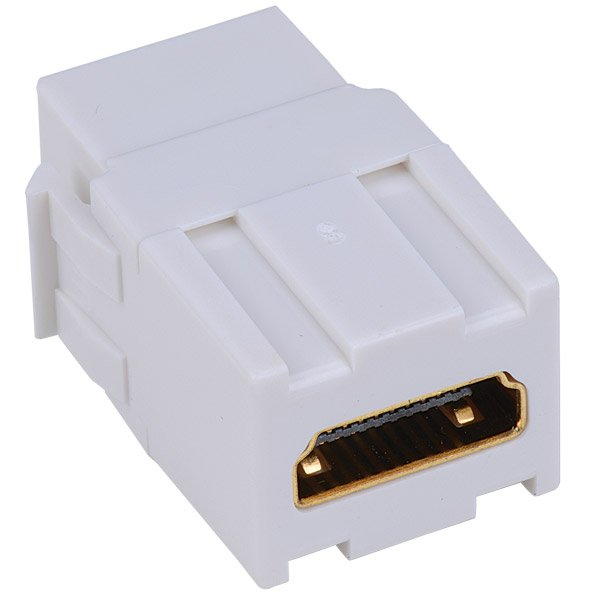Keystone Compatible HDMI Pass Through Insert