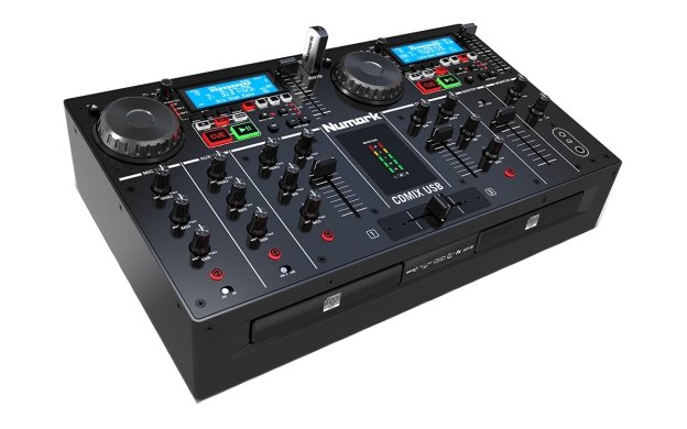 Dual-Tray CD/MP3 Player with USB