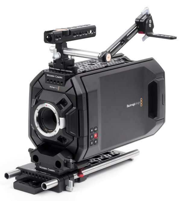 Professional Camera Support Package for Blackmagic URSA