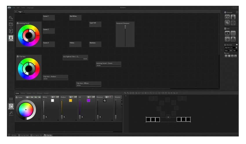 ADJ MYDMX-3 0 DMX Control System For Mac And PC, Software And DMX
