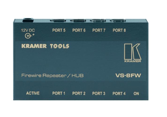 8-Port FireWire Repeater/HUB