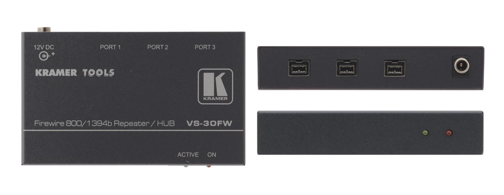 3-Port FireWire 800 Repeater/Hub