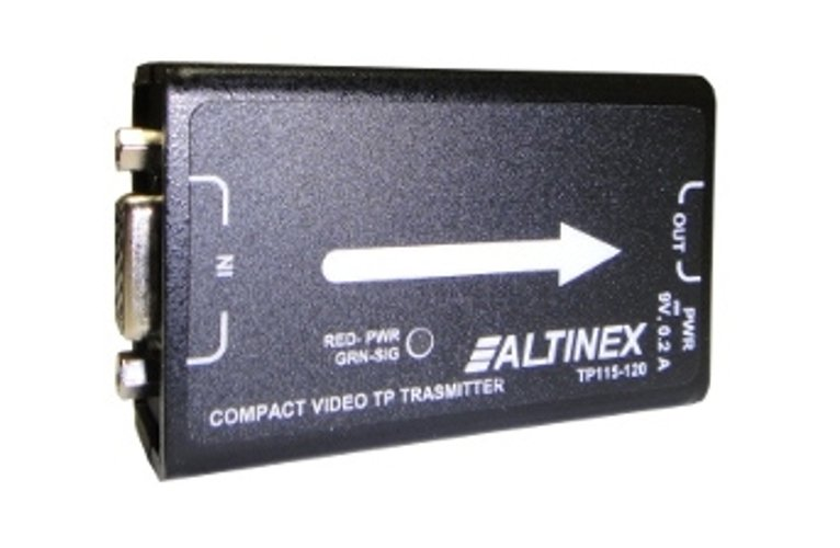 Compact Video Twisted Pair Transmitter, No Audio