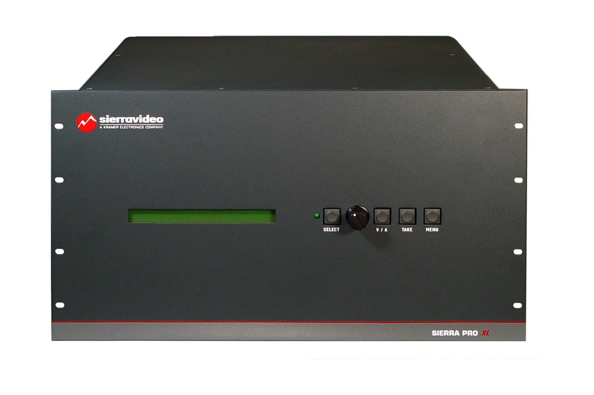 16 x 16 Five-Channel 450MHz @ -3dB Wideband Video + Stereo Audio 6RU Routing Switcher