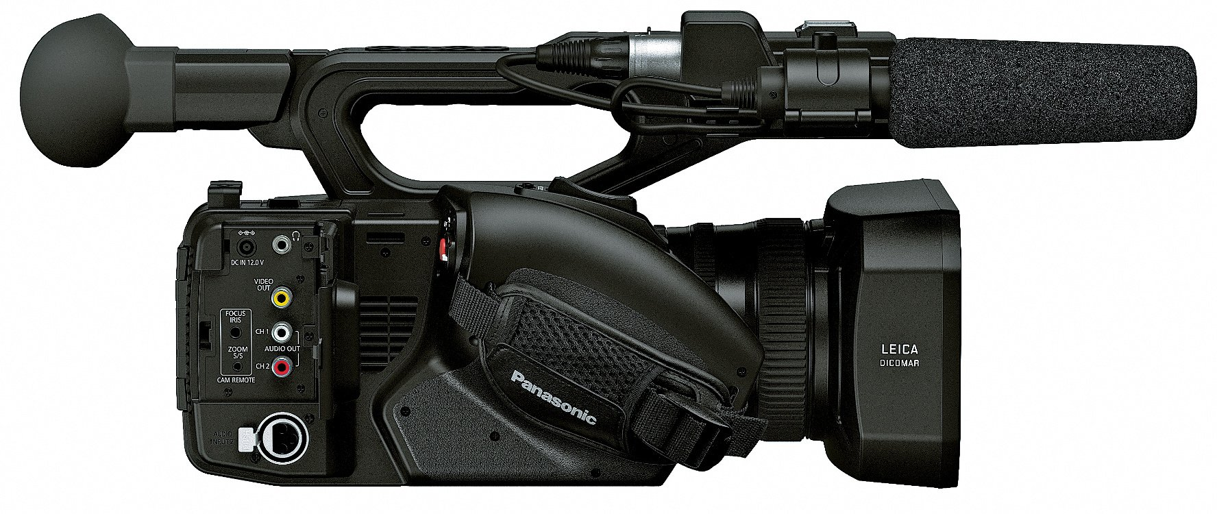 """4K Camcorder with 1"""" MOS Sensor and Wide-Angle 15x Optical Zoom Lens"""