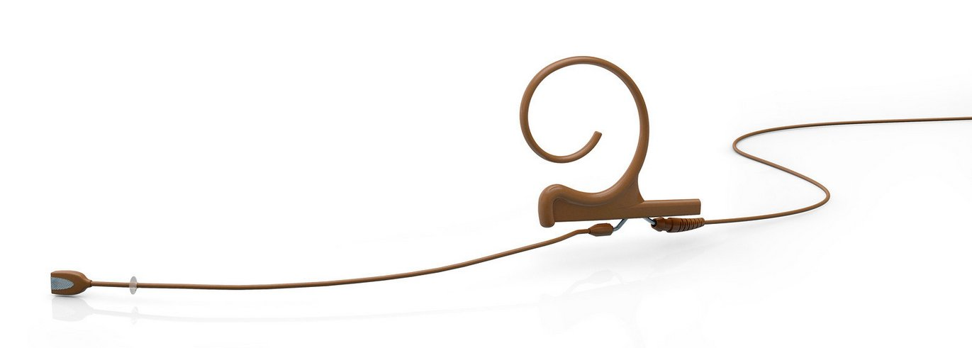 Single Ear Headset For Shure Wireless Systems, Brown