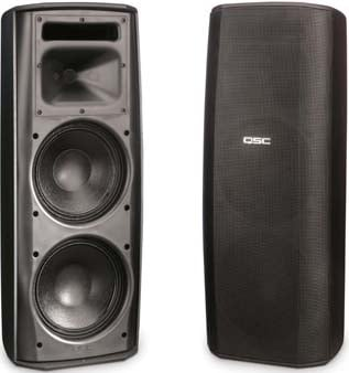 """AcousticDesign Dual 8"""" 2-Way Speaker System with Transformer Taps"""