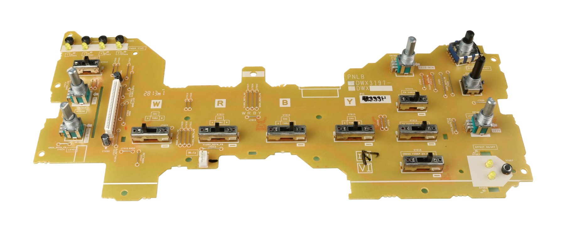 Pioneer DWX3197  PNLB PCB Assembly for DJM-900NXS DWX3197