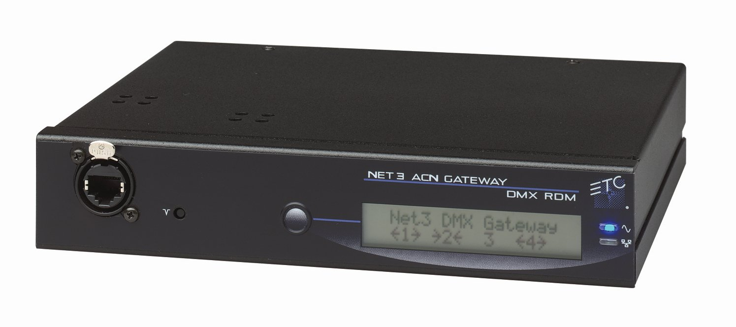 Four Port DMX Gateway with 4 Inputs