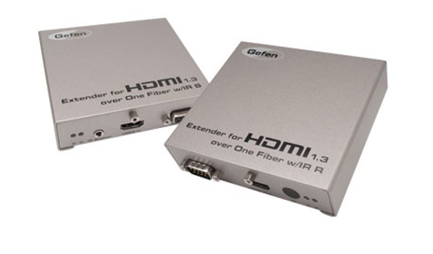 Extender for HDMI 1.3 over one Fiber Optic w/ IR