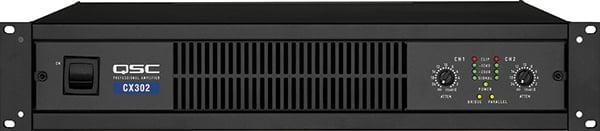 2-Channel Powered Amplifier, 200W @ 8 ohms, CX-302