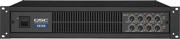 8-Channel Powered Amplifier, 90W @ 8 ohms per channel, CX-168
