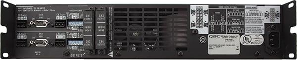 4-Channel Powered Amplifier, 250W @ 8 ohms, CX-404