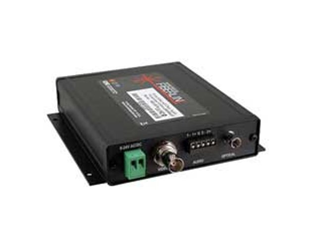 Fiberlink 3620 Composite Video & 2-Channel Audio Fiber Optic Receiver