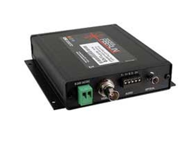 Fiberlink 3620 Composite Video & 2-Channel Audio Fiber Optic Transmitter