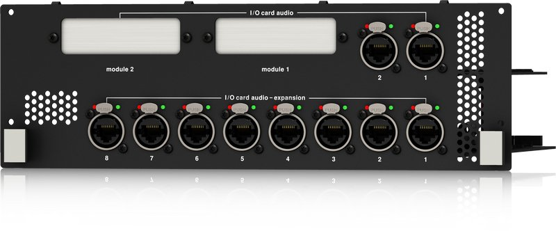 Dual Network Bridge Expansion Module with 10 Port AES50 Interface for NEUTRON Audio System Engine